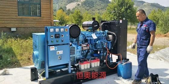 潍柴柴油发电机组适用各种场合作为备用电源