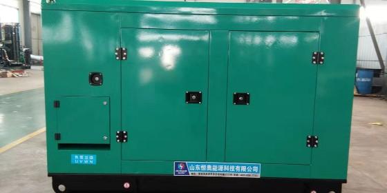 恒奥75KW潍柴发电机组调试完成、顺利交付
