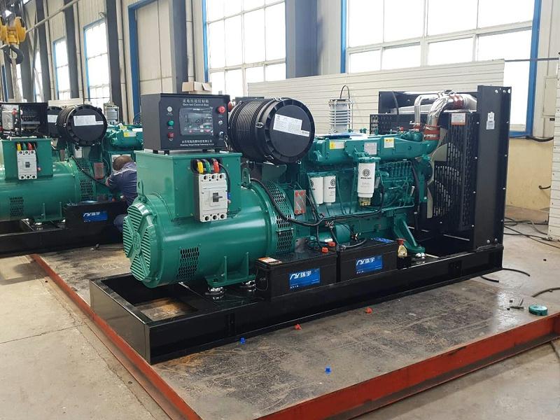 潍柴100KW发电机组