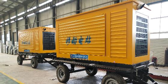 祝贺某工程公司成功签订2台拖车型潍柴发电机组