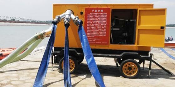 120KW双吸中开水泵机组 城市排水好帮手
