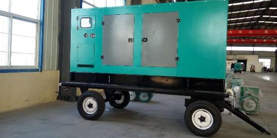 【山东恒奥】移动拖车柴油发电机组 配置丰富 个性定制