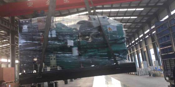 山东恒奥能源150KW玉柴发电机组顺利发货