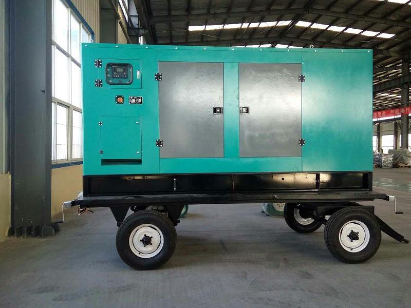 拖车柴油发电机组