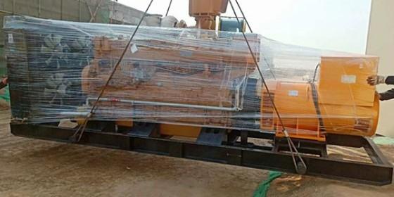 大功率济柴发电机组为打井用户持久续航