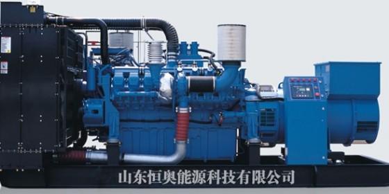 装有电子监控管理系统MDEC的MTU柴油发电机组