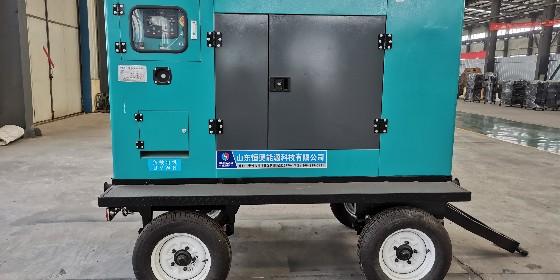 工地用移动拖车式柴油发电机组 经济 实用