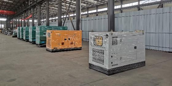 热烈祝贺济南老客户成功订购一批柴油发电机组