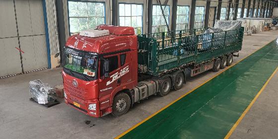 山东恒奥1000KW潍柴发电机组顺利发货。。。