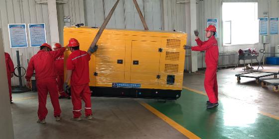 山东恒奥能源80KW潍柴发电机组顺利发货就位