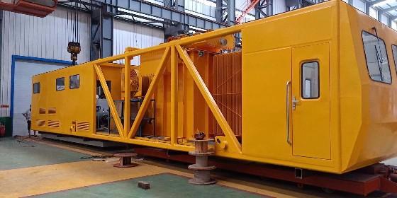 合作中铁—火车专用200千瓦潍柴发电机组安装