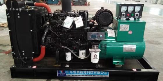 柴油发电机组在高负载时,排烟管及增压器发红是哪几个原因引起的
