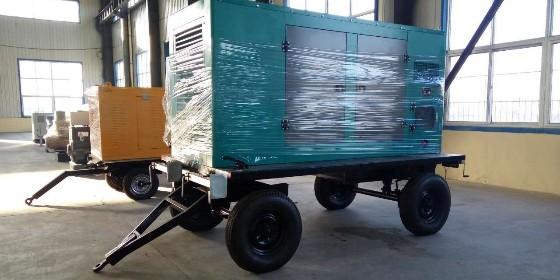 康明斯移动式柴油发电机组野外作业方便又实用