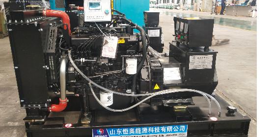 山东恒奥小型柴油发电机组顺利发货—24KW潍柴发电机组