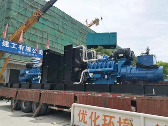 建筑工地专用潍柴1000KW静音型发电机组
