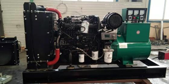 养殖用50KW柴油发电机组 客户选用潍柴