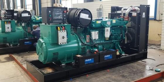 山东恒奥300KW柴油发电机组-四保护柴油发电机组