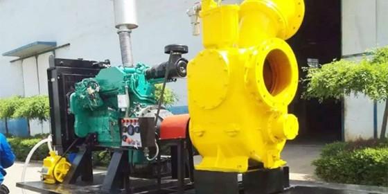 山东恒奥--75KW柴油机水泵机组简介