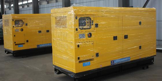 临沂某电力公司成功签订两台东风康明斯柴油发电机组