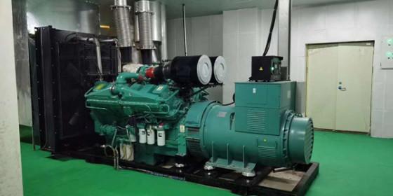祝贺山东某材料公司成功签订四台潍柴柴油发电机组