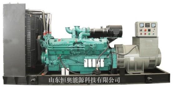 柴油发电机组使用过程中冒黑烟原因及解决方法