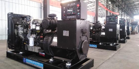喜讯:山东某出口公司又成功签订四台珀金斯发电机组