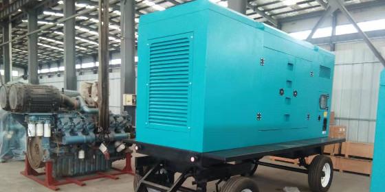 山东恒奥200KW拖车防雨型上柴发电机组紧急发货中。。。