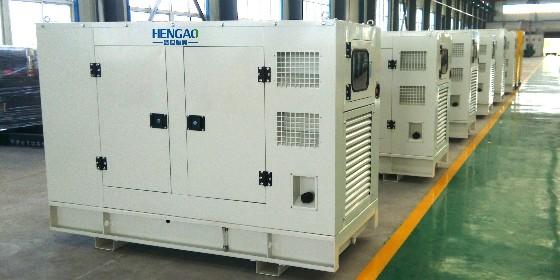 柴油发电机组的运输包装