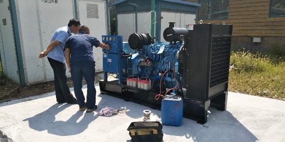 柴油发电机组安装条件