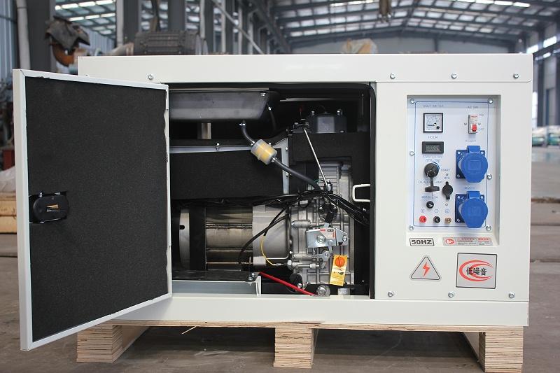 8KW单相柴油发电机组