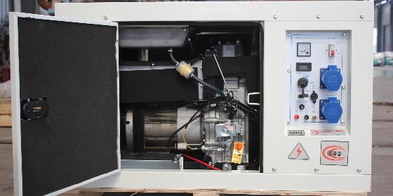 恭喜济南老客户再次成功订购一批小型柴油发电机组
